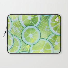 Lime Rings Laptop Sleeve