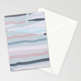 Lilac gray shades Stationery Cards