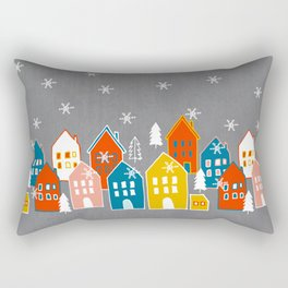 wondeful time of the year Rectangular Pillow