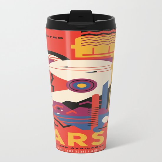 Mars Tour : Space Galaxy Metal Travel Mug