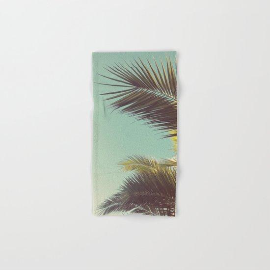 Autumn Palms Hand & Bath Towel