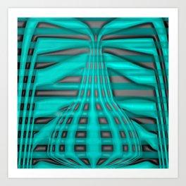 Surreal calabash Art Print