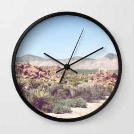 Joshua Tree, No. 2 Wall Clock
