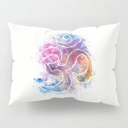 OM Symbol Watercolor Art Pillow Sham