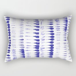 Shibori strokes Rectangular Pillow