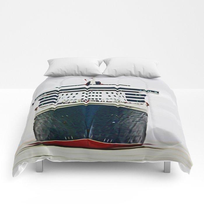 Queen Mary 2 Comforters