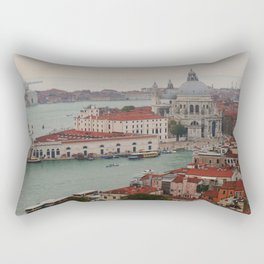Venice view from the Campanile of San Marco Rectangular Pillow