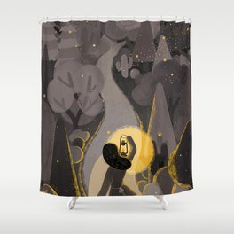 The Light Will Guides You Home Shower Curtain