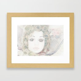 Fair Lady Framed Art Print