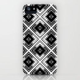 Black white , Scandinavian 1 iPhone Case