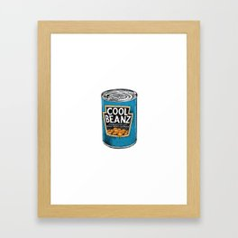 Cool Beanz Framed Art Print