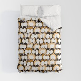 corgi butts Comforters