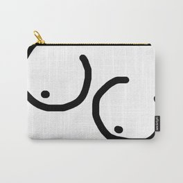 Girls Night in White Carry-All Pouch
