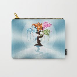 The Four Seasons Bubble Tree Carry-All Pouch
