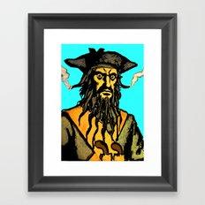 Gunslinger Teach Framed Art Print