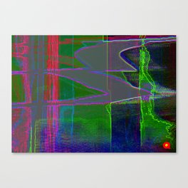 Qpop -Synthwave 1 Canvas Print