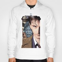 doctor who Hoodies featuring Doctor Who by SB Art Productions