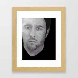 Alex O'Loughlin Framed Art Print
