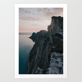 The Cliff - Landscape and Nature Photography Art Print