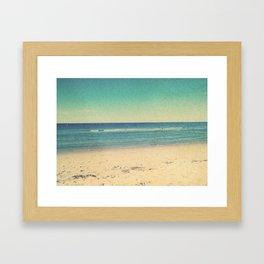 Life's Just Beachy Framed Art Print