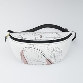 Blush Beauty Fanny Pack