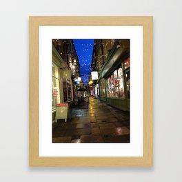 Street In Bath Framed Art Print