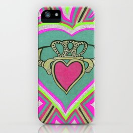Claddagh Heart. iPhone Case