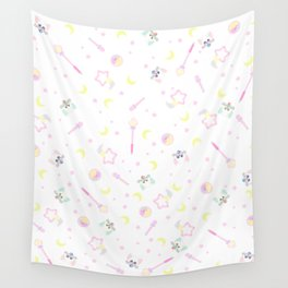 creamy mami items pattern Wall Tapestry