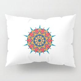 Mandala Laranja Pillow Sham