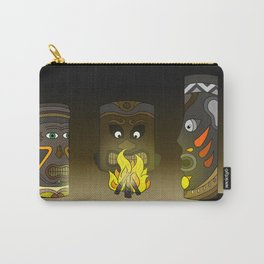 Tiki in the Dark Carry-All Pouch