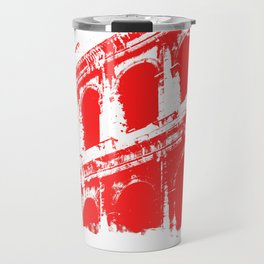 Way of the Warrior - Roman Colosseum Travel Mug
