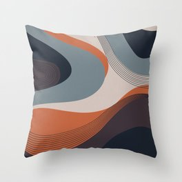 ABSTRACT 20b Throw Pillow