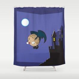 vampire hedgie Shower Curtain