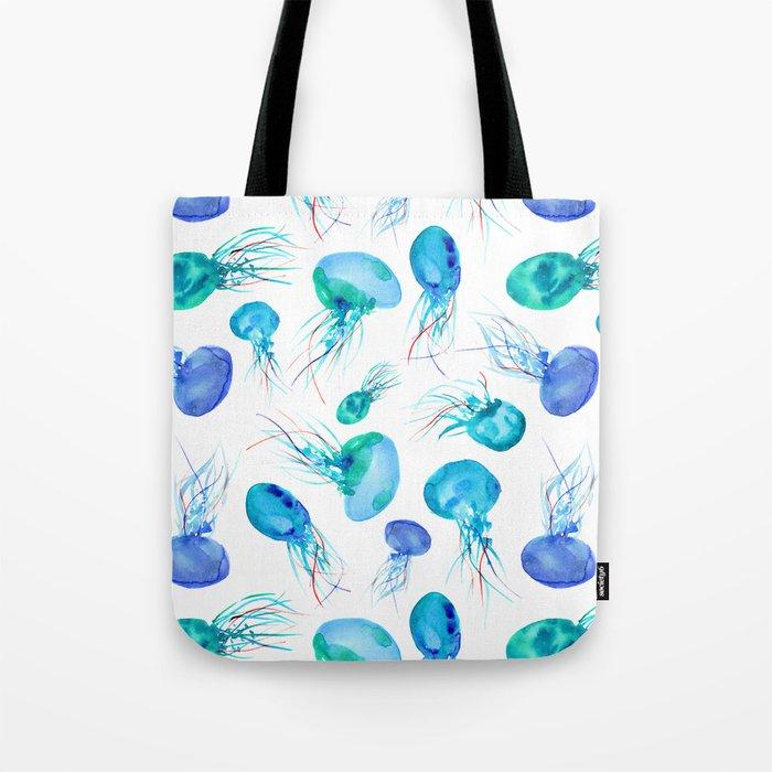 Jellyfish || watercolor Tote Bag