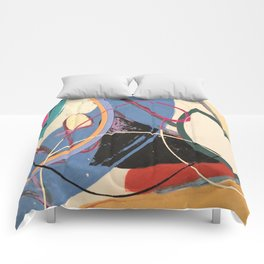 Unusually Composed Comforters