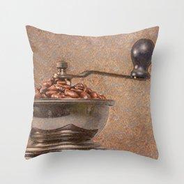 Coffee time/Kaffeezeit Throw Pillow