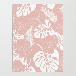 Tropical pattern 020 Poster