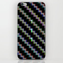 Pixel Bend iPhone Skin