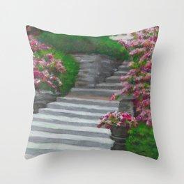 Jeffrey Mansion Throw Pillow