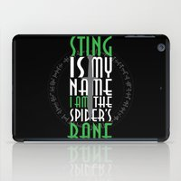 bane iPad Cases featuring Spider's Bane by Out of the Dust Designs