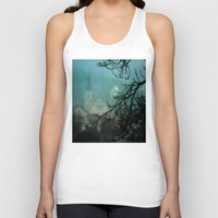 silent Tank Tops featuring Silent Night by Bella Blue Photography