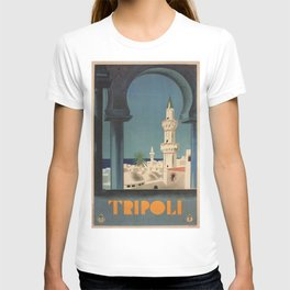 Vintage poster - Tripoli T-shirt