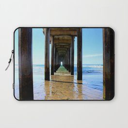 Scripps Pier - Blues Laptop Sleeve