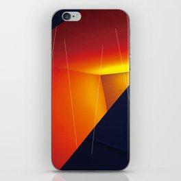 wall+space iPhone Skin