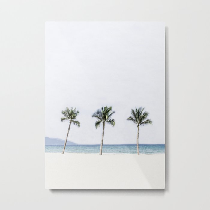 Palm trees 6 Metal Print