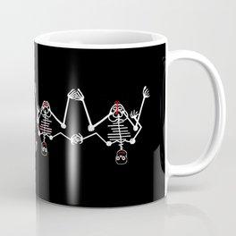 Skeleton Fafa & Fifi Male female Coffee Mug