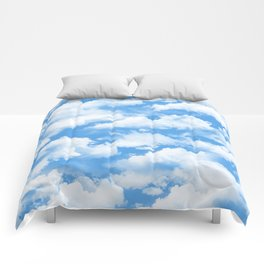 Sky's the limit. Comforters