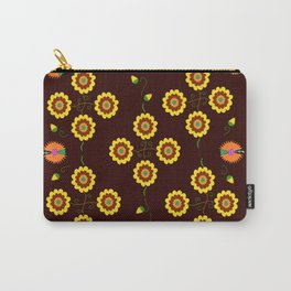 textile pattern Carry-All Pouch