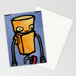 Robot - You Complete Me Stationery Cards