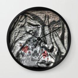 Cabsink16DesignerPatternDGM Wall Clock